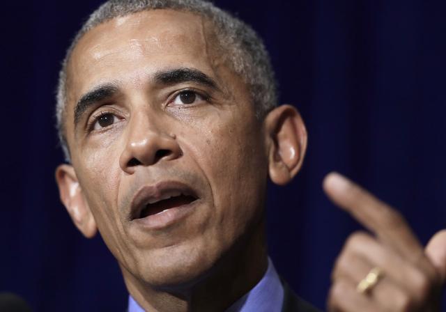 U.S. President Barack Obama speaks on Thursday, Sept. 8, 2016. (AP Photo/Carolyn Kaster)
