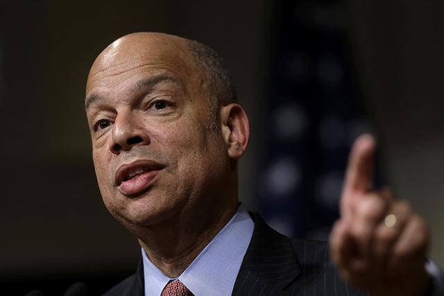Homeland Security Secretary Jeh Johnson (Steven Senne/AP)