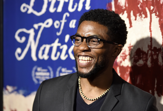 Chadwick Boseman is among the new members of the film academy who joined the organization to advance diversity discussion in the industry. (Chris Pizzello/AP)