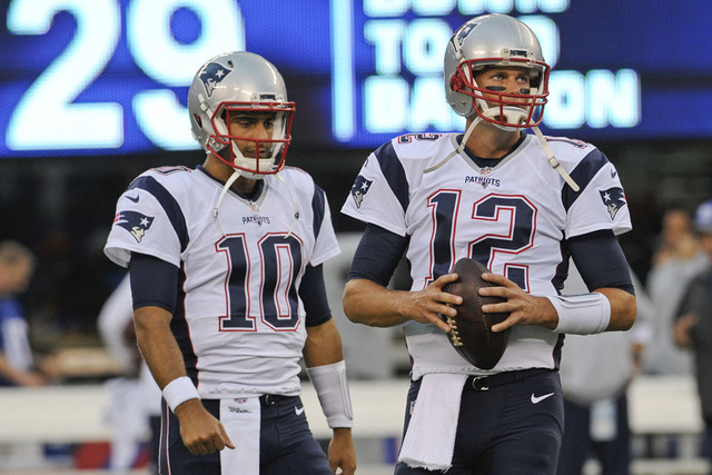 Sports Betting Spotlight: New England Patriots season preview (Elaine Wilson/Las Vegas Review-Journal)