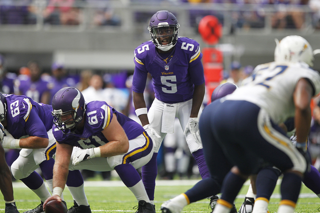 check out b89b3 c068b Vikings QB Teddy Bridgewater could miss 1-2 years after knee ...