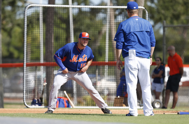 Tim Tebow Has First Training Session With Mets Instructional League