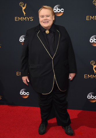 Louie Anderson arrives at the 68th Primetime Emmy Awards on Sunday, Sept. 18, 2016, at the Microsoft Theater in Los Angeles. (Photo by Jordan Strauss/Invision/AP)
