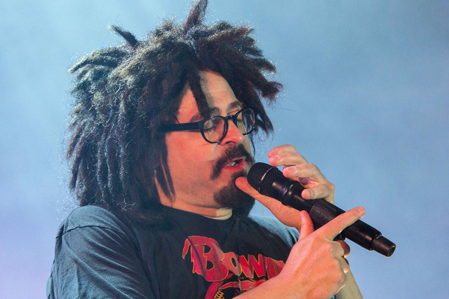 Adam Duritz with Counting Crows performs during the Somewhere Under Wonderland Tour 2015 at Chastain Park Amphitheater on Monday, August 3, 2015, in Atlanta. (Photo by Robb D. Cohen/Invision/AP)