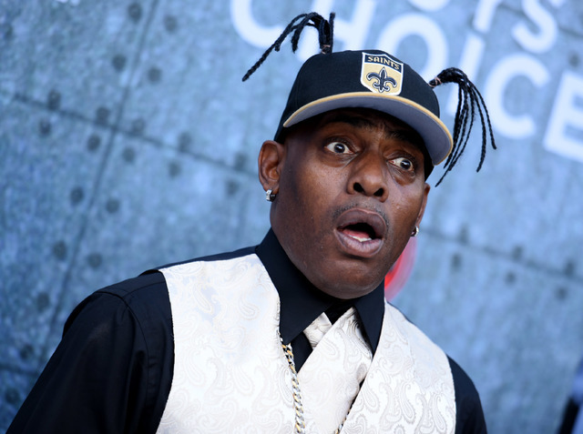 Coolio attends the 2015 Spike TV's Guys Choice Awards at Sony Studios in Culver City, Calif., in 2015.  (Photo by Richard Shotwell/Invision/AP)