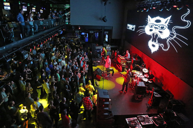 Blues Traveler performs Thursday at Topgolf. (Courtesy)