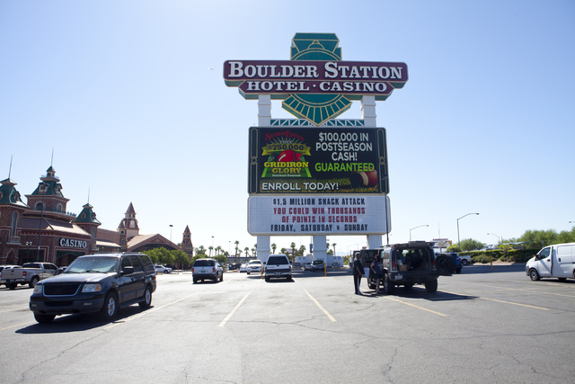 Boulder Station hotel-casino is shown on Tuesday, Sept. 6, 2016, in Las Vegas. Loren Townsley/Las Vegas Review-Journal Follow @lorentownsley