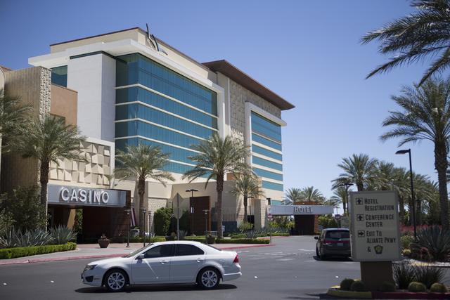 Aliante casino-hotel is seen on Tuesday, April 26, 2016, in North Las Vegas. Erik Verduzco/Las Vegas Review-Journal Follow @Erik_Verduzco
