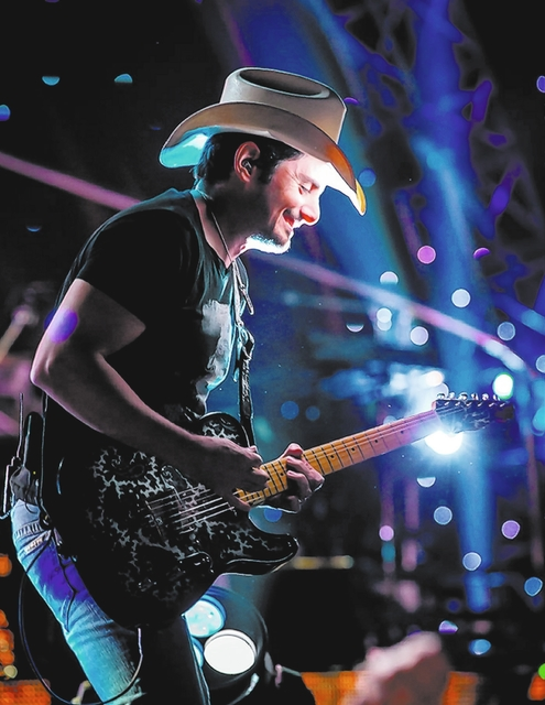 Brad Paisley at Mandalay Bay Events Center. (Erik Kabik/Retna)