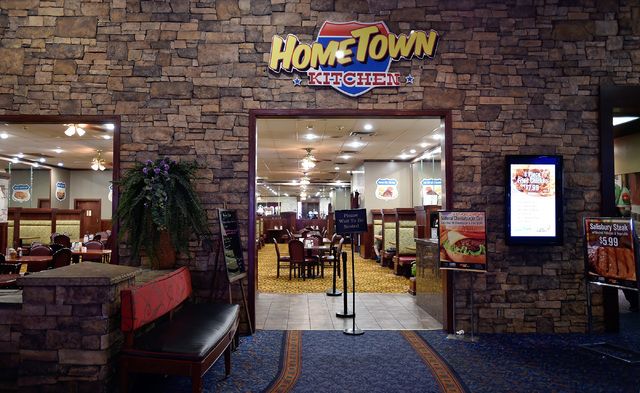 The Hometown Kitchen is seen at the Silver Nugget casino Tuesday, Sept. 13, 2016, in North Las Vegas. The restaurant in the casino was closed temporary after a North Las Vegas womanճ Faceboo ...