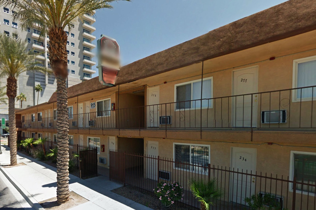 915 Casino Center Drive in Las Vegas (Google Street View)