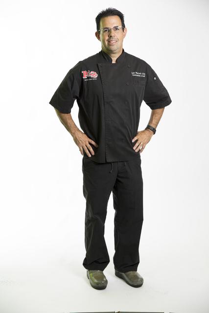 Oscar's Steakhouse chef Jeff Martell is photographed at the Las Vegas Review-Journal photo studio on Friday, Sept. 2, 2016, in Las Vegas. Erik Verduzco/Las Vegas Review-Journal Follow @Erik_Verduzco