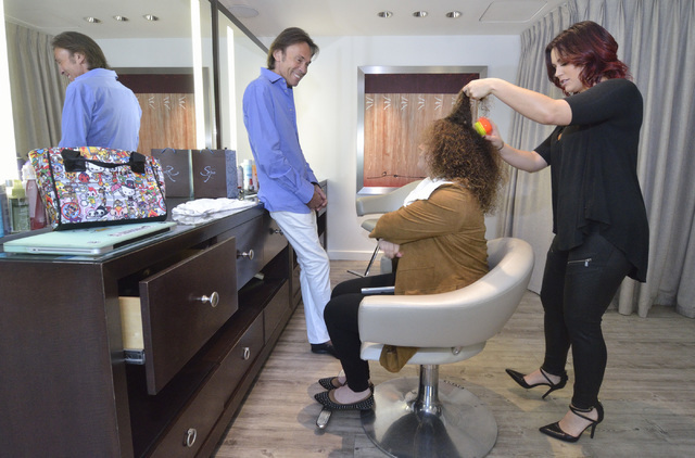 Hair Legend Cristophe Visits Las Vegas Salon Predicts Natural Look