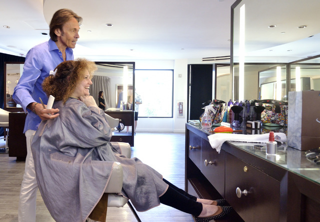 Hair legend cristophe visits las vegas salon predicts - Christophe hair salon ...