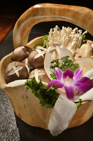 The Mixed Mushrooms Basket is shown at the Chubby Cattle restaurant at 3400 S. Jones Blvd. in Las Vegas on Thursday, Sept. 1, 2016. Bill Hughes/Las Vegas Review-Journal