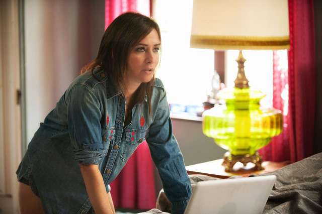 """BETTER THINGS """"Sam/Pilot"""" Episode 1 (Airs Thursday, September 8, 10:00 pm/ep) -- Pictured: Pamela Adlon as Pam. CR: Colleen Hayes/FX"""