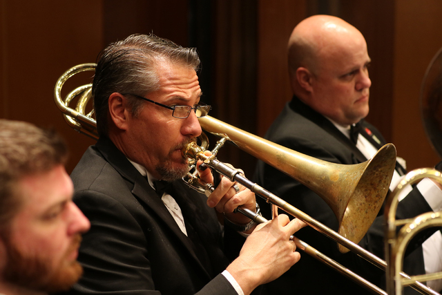 Las Vegas Philharmonic musicians return to perform Mozart and Mahler at Saturday's season-opening concert at The Smith Center's Reynolds Hall, which also features a West Coast premiere. COURTESY L ...