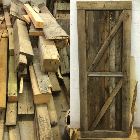 Old barns, including their doors, are a great source and provide an  abundant supply - Reclaimed Wood Rich In History, Easy On Wallet €� Las Vegas Review