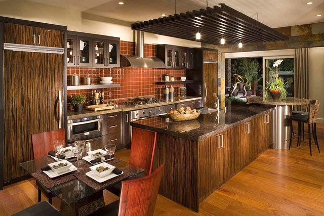 Christopher Homes offers large kitchens in their semi-custom homes in Boulder Ridge, which is in The Ridges of Summerlin. (Courtesy)