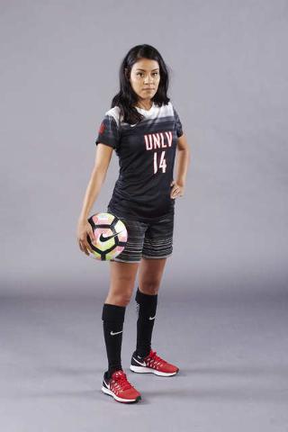 Women Soccer uniforms, headshots, team, and faux action. August 5, 2016.  (Josh Hawkins/UNLV Photo Services)  client: Sarah Jennings/Womens Soccer