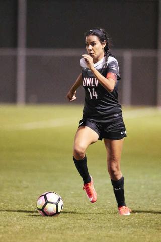 Susie Bernal  UNLV Women's Soccer vs. Northern Arizone University at August 26, 2016.  (Josh Hawkins/UNLV Photo Services)  client: Sarah Jennings/Soccer