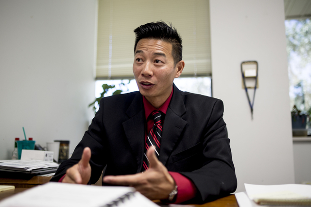 Kevin Wong, intelligence analyst for Rocky Mountain High Intensity Drug Trafficking Agency discusses the issues regarding home grown marijuana since recreational legalization on Tuesday, Aug. 30,  ...