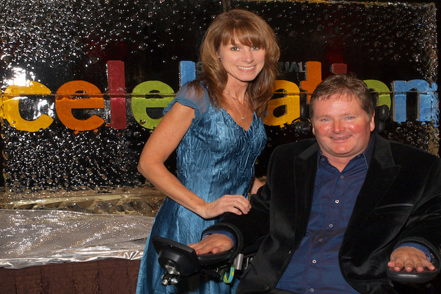 Sheila and Sam Schmidt  (Marian Umhoefer/Las Vegas Review-Journal)