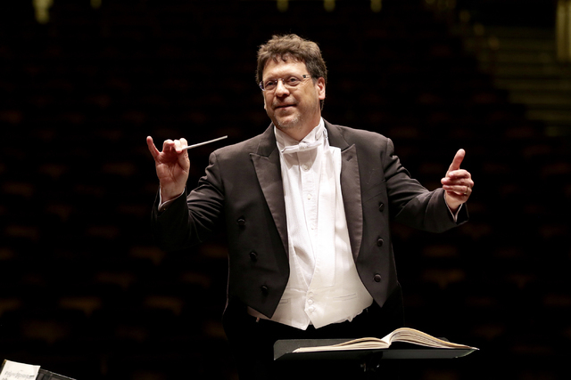 Donato Cabrera begins his third season as the Las Vegas Philharmonic's music director at Saturday's Smith Center concert. COURTESY LAS VEGAS PHILHARMONIC