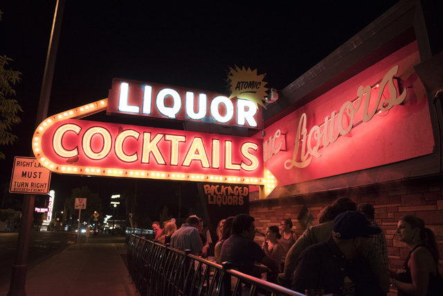 Atomic Liquors at 917 Fremont St. in Las Vegas is seen Friday, June 24, 2016. Jason Ogulnik/Las Vegas Review-Journal