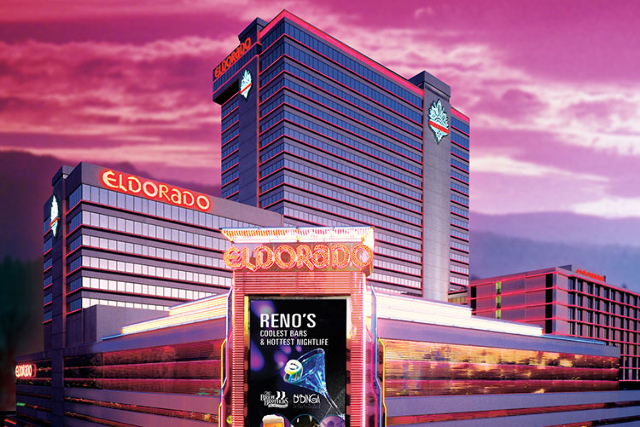 Eldorado Reno is one of three Reno properties that will be getting $50 million in upgrades. (Review-Journal file)