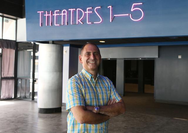 Alex Igelman, CEO of Millennial Esports, poses for a photo inside Neonopolis' movie theater on Thursday, Sep. 1, 2016, in Las Vegas. (Bizuayehu Tesfaye/Las Vegas Review-Journal) Follow @bizutesfaye