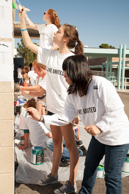 The inaugural Day of Caring event is set to bring more than 1,000 volunteers together to Town Square Las Vegas, 6605 Las Vegas Blvd. South, before the groups disperse to locations across the valle ...