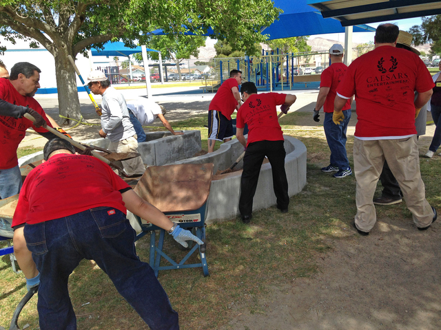 The inaugural Day of Caring event is set to bring more than 1,000 volunteers together at Town Square Las Vegas, 6605 Las Vegas Blvd. South, before the groups disperse to locations across the valle ...