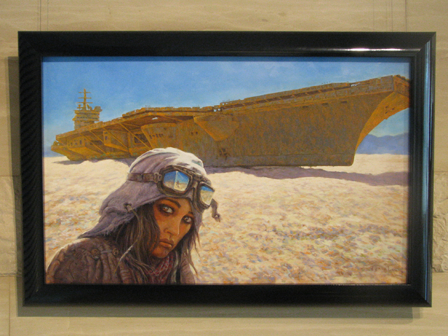 """Daniel Miller's contribution to the """"Science Versus Fiction"""" art show is """"Inheritance."""" The show is on display from 7 a.m. to 5:30 p.m Monday through Thursday through Sept. 22 at Las Vegas City Ha ..."""
