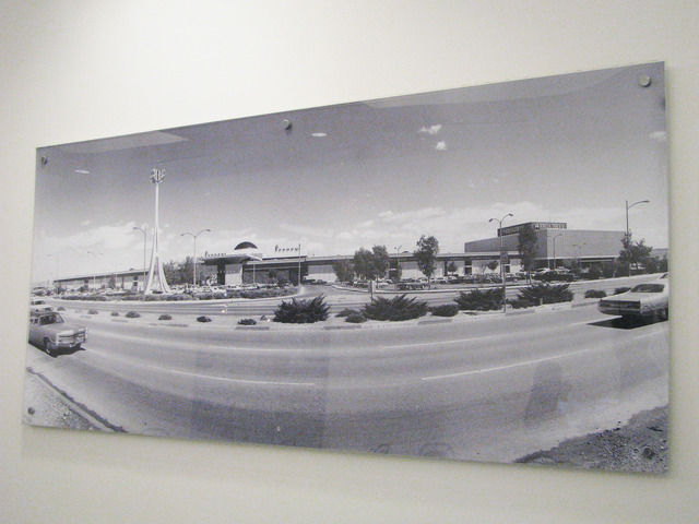 A picture of the mall in its early days adorns a hallway at the Boulevard Mall, 3825 S. Maryland Parkway. The mall is set to add an aquarium and a luxury theater. F. Andrew Taylor/View