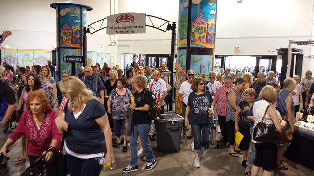 Las vegas harvest festival craft show showcases new and for Las vegas craft shows