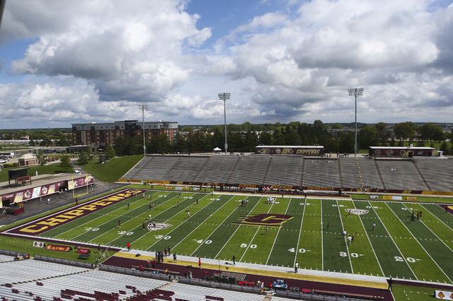 Kelly/Shorts Stadium is shown before UNLV takes on Central Michigan in Mount Pleasant, Mich. on Saturday, Sept. 17, 2016. Chase Stevens/Las Vegas Review-Journal Follow @csstevensphoto