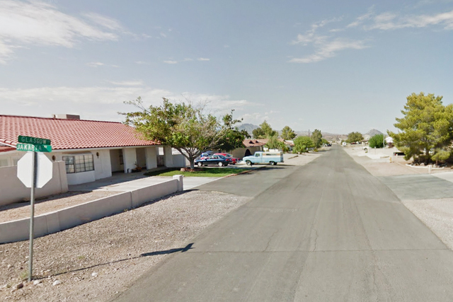 400 block of Glasgow Street, near East Warm Springs and North Racetrack in Las Vegas. (Google Street View)