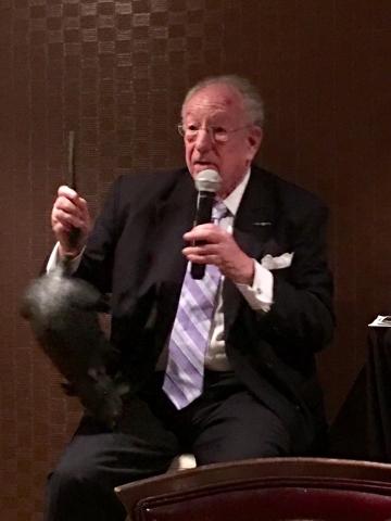 Oscar Goodman Grabs A Tail To Tell A Las Vegas Tale Las