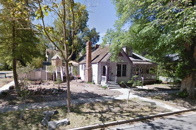 Gov. John Jones' mansion at 603 Robinson St. in Carson City. (Google Street View)