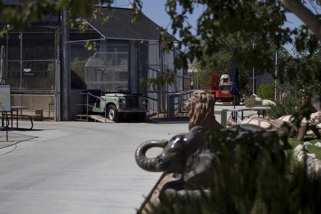 The entrance to the Lion Habitat Ranch in Henderson is seen during a tour on Wednesday, Sept. 7, 2016, in Las Vegas. Erik Verduzco/Las Vegas Review-Journal Follow @Erik_Verduzco