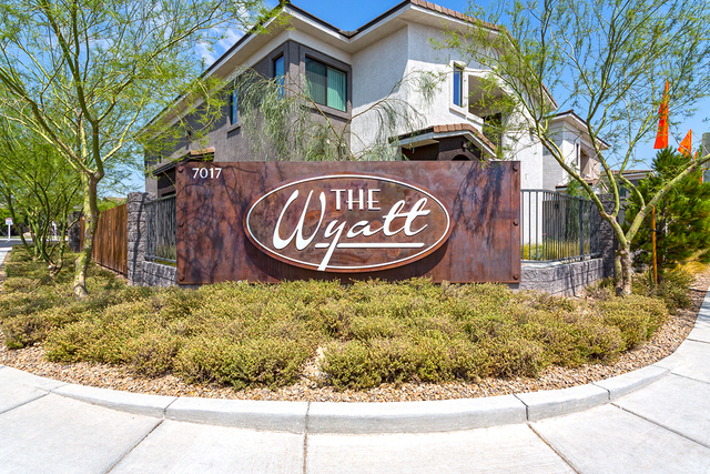 Inland Real Estate Group paid about $57.3 million for the Wyatt, a 308-unit rental property on Buffalo Drive just south of the 215 Beltway. (Courtesy)