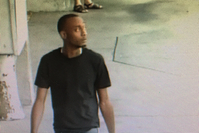 Police have released this photo of a suspect in an attempted robbery that occurred Tuesday evening. (Las Vegas Metropolitan Police Department)