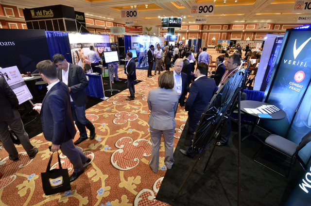 Part of the 2016 Electronic Retailing Association D2C Convention is shown in the Wynn Las Vegas on Wednesday, Sept. 14, 2016. (Bill Hughes/Las Vegas Review-Journal)