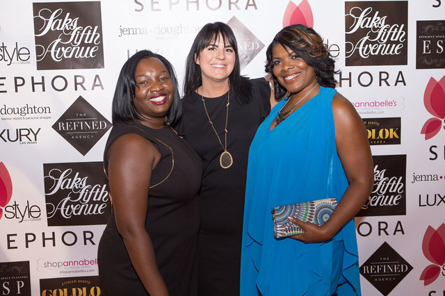 Dr. Tiffany Tyler (left) joins event founder Jenna Doughton (center) and Monica Ford (right).