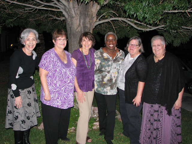 """The members of Jubilingo are set to perform """"Stories of Courage and Valor"""" from 7 to 8:30 p.m. Sept. 10 at the Historic Fifth Street School, 401 S. Fourth St. Members include, from left, Sandy ..."""