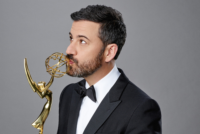 """THE 68TH EMMY(r) AWARDS - Jimmy Kimmel (host of the """"64th Emmy Awards"""" in 2012) will return to host this year's star-studded event, live from Microsoft Theater in Los Angeles on SUNDAY, SEPT ..."""