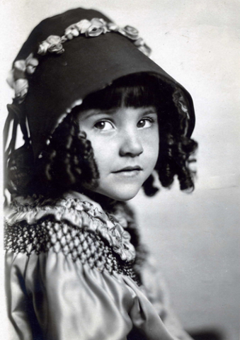 A portrait of Lassie Lou Ahern in her silent movie days; now 96, she's the inspiration for a documentary and film restoration effort spearheaded by Nevada State College film historian Jeffrey Crou ...