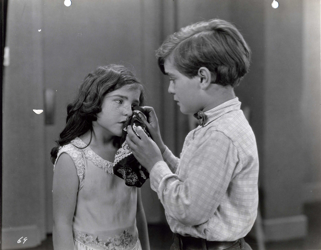 "Lassie Lou Ahern, Frankie Darro star in 1927's ""Little Mickey Grogan,"" the subject of a crowdfunding campaign -- spearheaded by Nevada State College film historian Jeffrey Crouse -- to restore the ..."