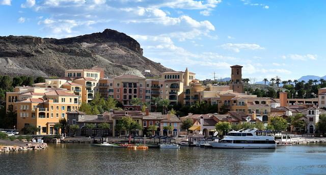 Montelago Village at Lake Las Vegas is seen Friday, Sept. 2, 2016, in Las Vegas. David Becker/Las Vegas Review-Journal Follow @davidjaybecker